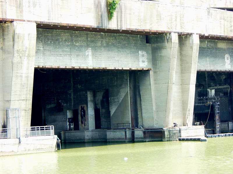Base sous-marine de Bordeaux - Alvéole n°1